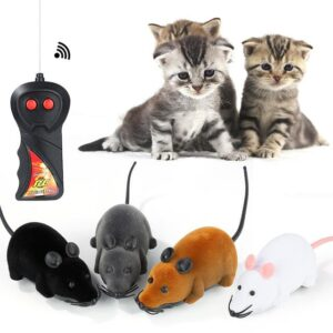 Remote Control Mouse Toy For Cats