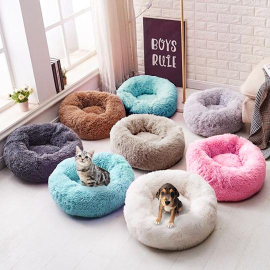 Calming Dog Beds for Small Dogs and Cats
