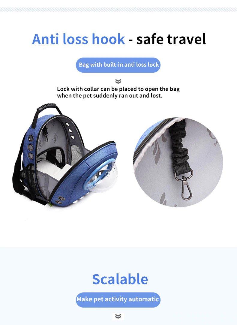 Anti-loss hock-safe travel