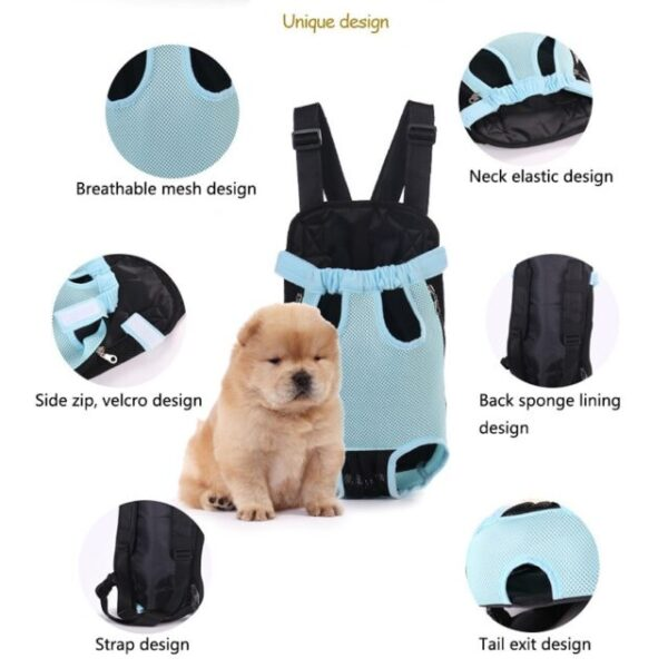 Material of dog carrier backpack