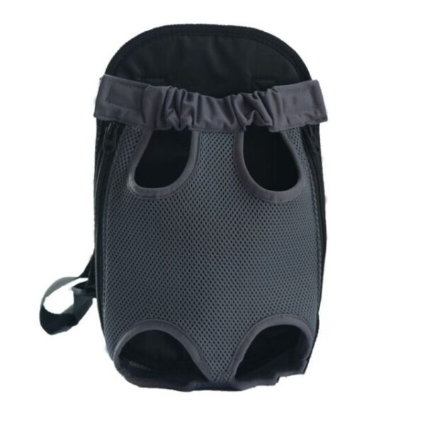 Dog Travel Backpack Grey