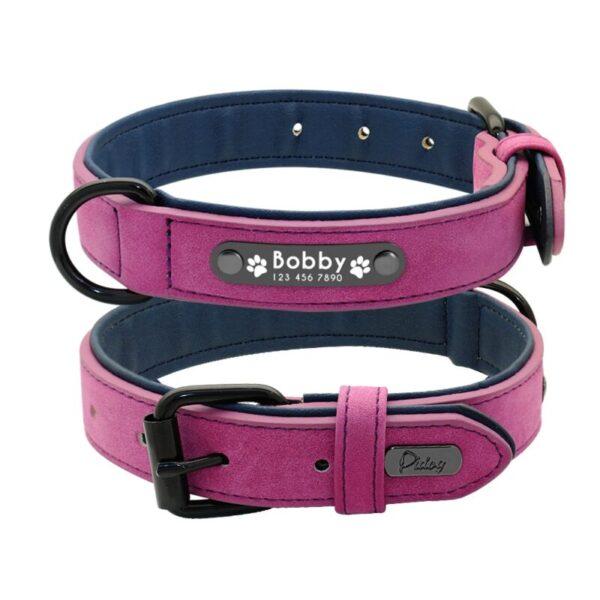 Luxury Custom Leather dog collars