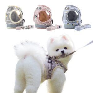 Adjustable Dog Harness with Leash