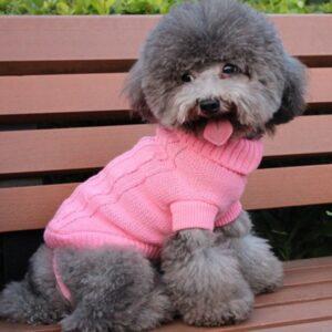 Dog Turtlenecks – Knitted Dog Sweaters