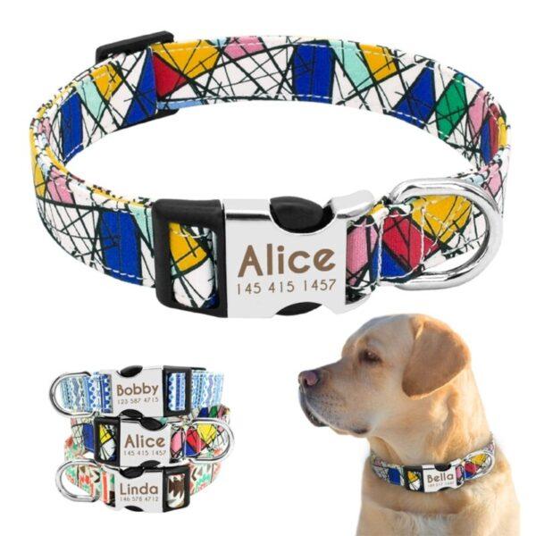 Wonderful Design of custom dog collars