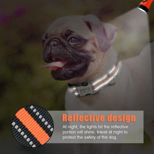 Reflective Custom Dog Collar