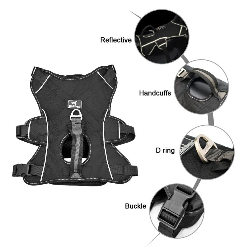 Features of Nylon Reflective Dog Harness