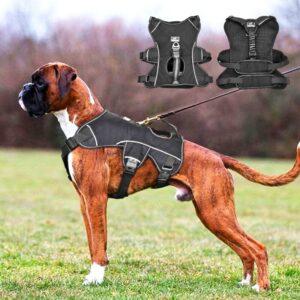 Reflective Dog Harness – Nylon No Pull Dog Vest