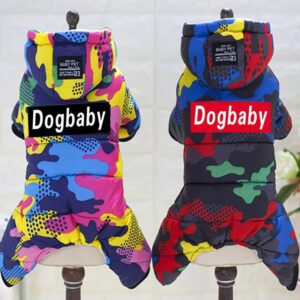 Waterproof Dog Jacket – Hooded Winter Dog Coat