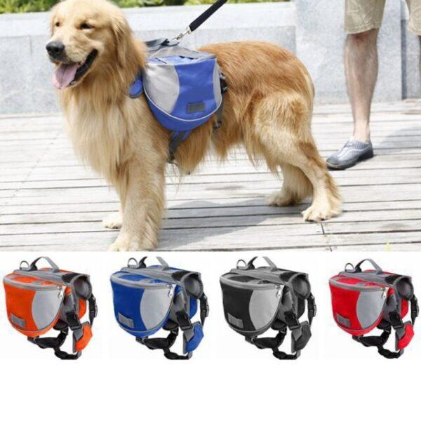 Dog Saddle Bags for Hiking