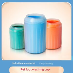 Dog Paw Cleaner – Silicone Dog Feet Wash Cup