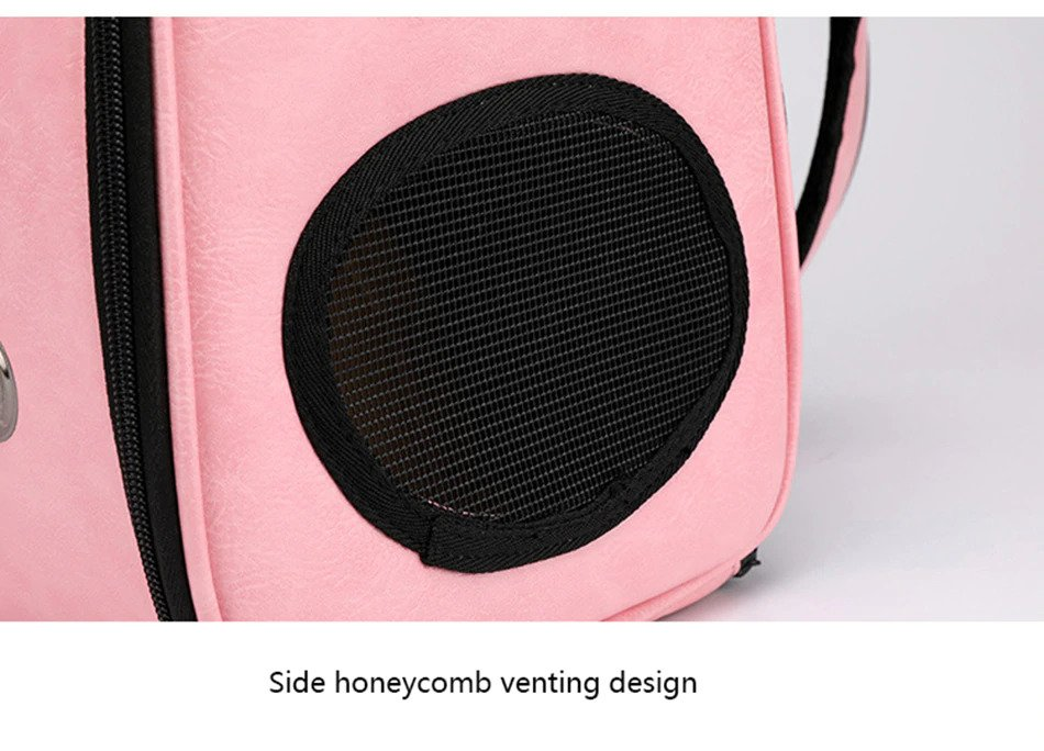 Side Honeycomb venting openings