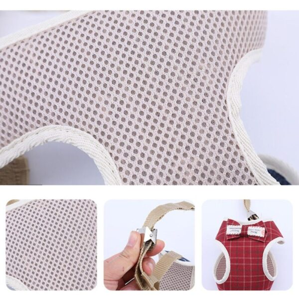 Breathable Material on dog harness for small dogs