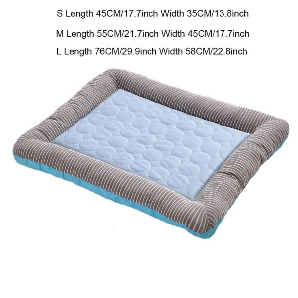 Cooling Dog Bed Size Chart