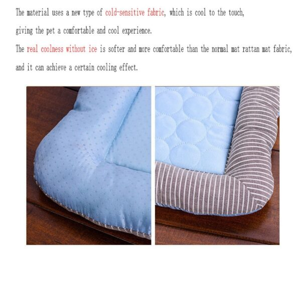 Cooling Pet Bed Soft Material