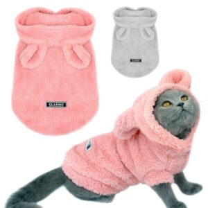 Cat Coat – Soft Fleece Pet Jacket