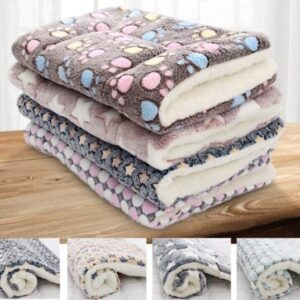 Pet Blanket – Soft Fleece Warm And Thick Mats