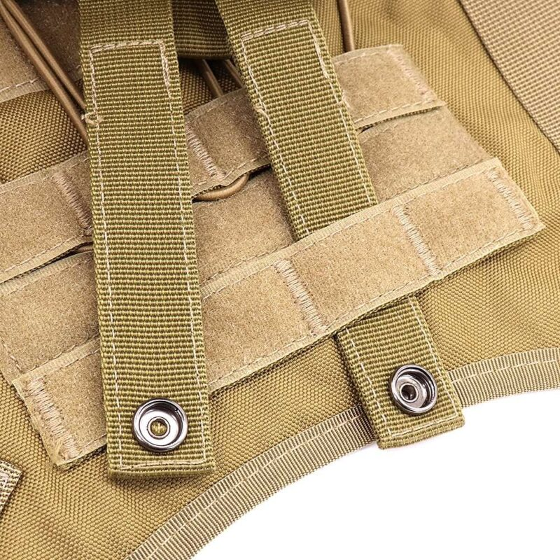 Features of the dog harness vest