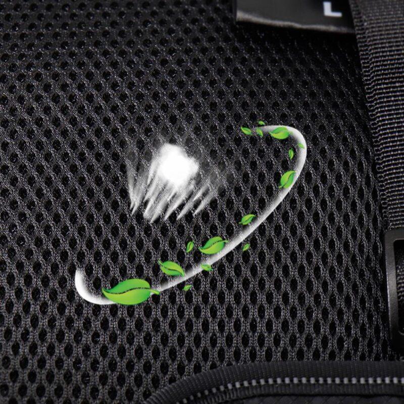 breathable mash fabric of nylon dog harness