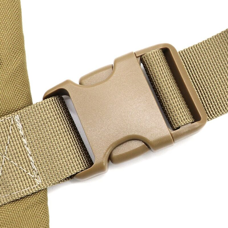 buckle of tactical working dog harness