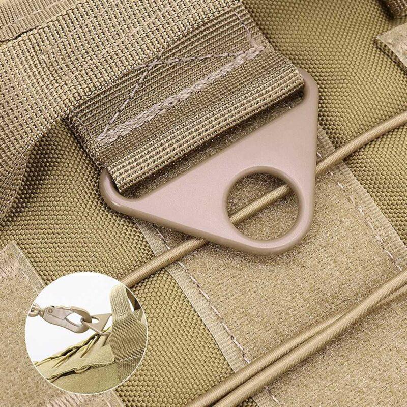 leash hole on dog harness