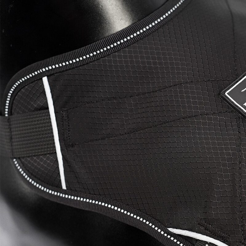 lightweight material on reflective dog harness
