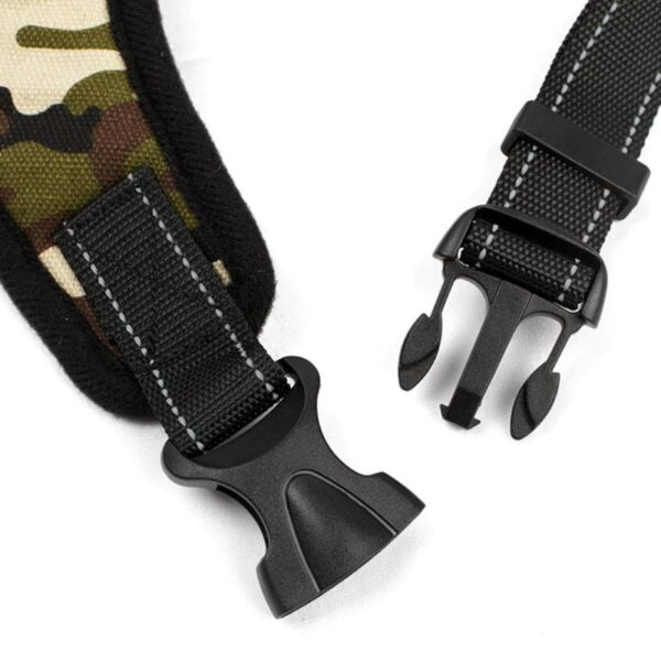 plastic buckle from a dog harness