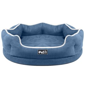 Soft Memory Foam Pet Bed –  Lounge for Small to Medium Sized Pets