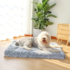 Faux Fur Orthopedic Dog Bed