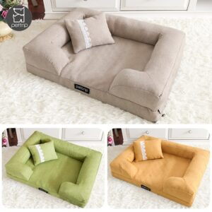 Elegant Pet Sofa Bed With Pillow