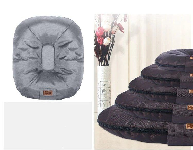 4 sizes available for breathable dog bed