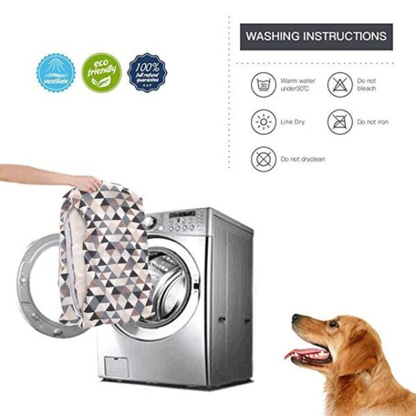 washing instructions for modern dog beds