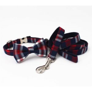 Bow Tie Collar & Leash Sets