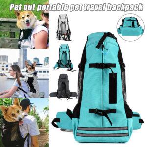 Pet Backpack Breathable Pet Dog Carrier Bag For Large Dogs Bulldog Backpack Adjustable Travel Bags