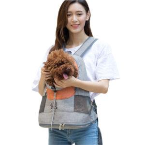 Shoulder Pet Bag Portable Breathable Dog Cat Backpack